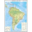 America de Sud. Harta economica