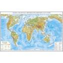 Harta fizica a lumii si a principalelor resurse