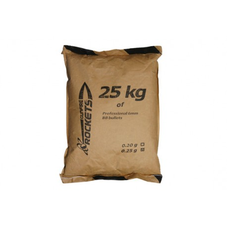 Bile Airsoft Gunfire Rockets Professional 0,23g BBs - 25kg