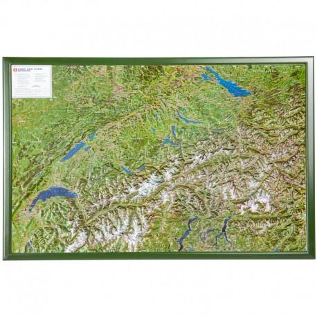 Georelief Harta magnetica Oberengadin