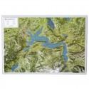 Georelief Harta magnetica Lacul Lucerne (in germana)