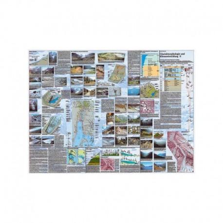 Klett-Perthes Verlag Harta Morfologie glaciară şi modificări climatice