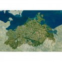 Planet Observer Harta regionala Mecklenburg Vorpommern
