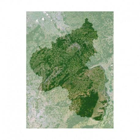 Planet Observer Harta regionala Rheinland-Pfalz