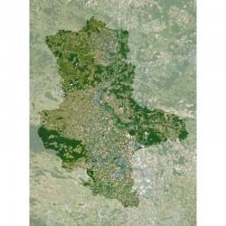 Planet Observer Harta regionala Sachsen-Anhalt