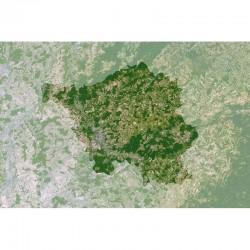 Planet Observer Harta regionala Saarland