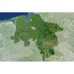 Planet Observer Harta regionala Niedersachsen