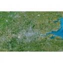 Planet Observer Harta regionala Greater London