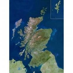 Planet Observer Harta regiunea Scotland