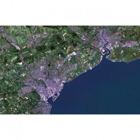 Planet Observer Harta regionala regiunea Cardiff