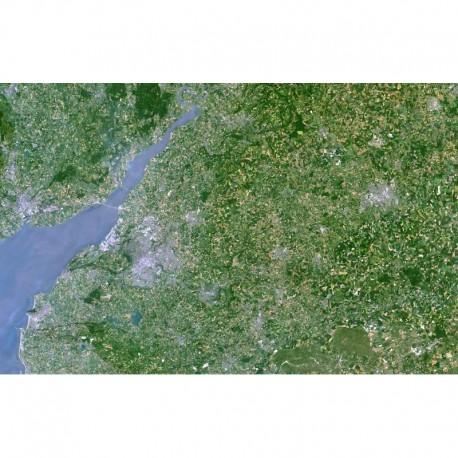 Planet Observer Harta regionala regiunea The Severn & Bristol