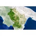 Harta regionala Planet Observer regiunea Basilikata
