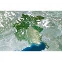 Harta regionala Planet Observer regiunea Friuli Venezial Giulia
