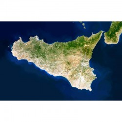 Harta regionala Planet Observer regiunea Sicilia