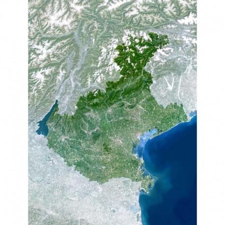 Harta regionala Planet Observer regiunea Veneto