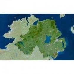 Harta regionala Planet Observer regiunea Nothern Irland