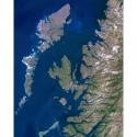 Harta regionala Planet Observer regiunea Hebrides & West Coast