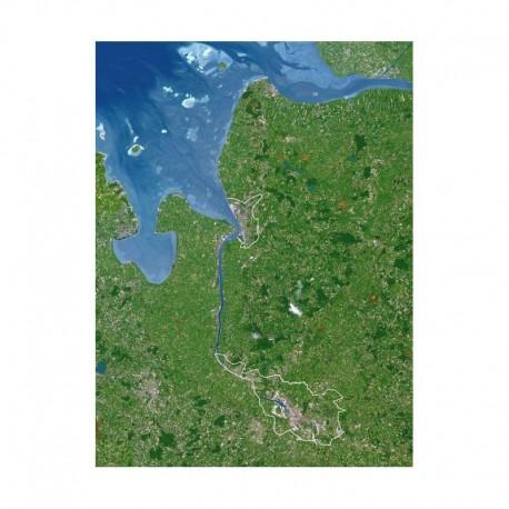 Planet Observer Harta regionala Bremen
