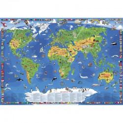 Harta copii XXL Wenschow-Verlag