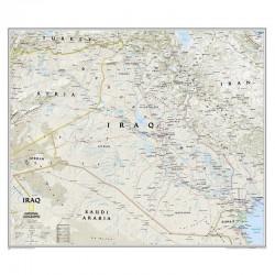 Harta Hartă Irak National Geographic