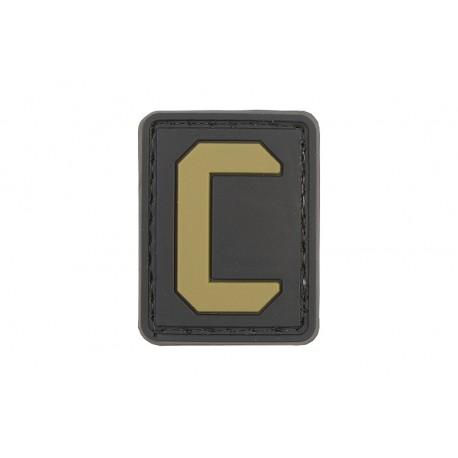 Insigna 3D - litera C