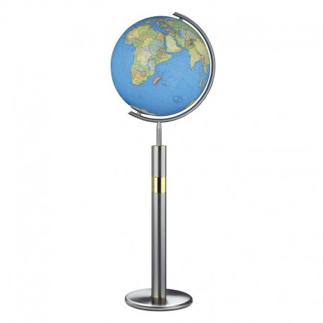 Glob Columbus cu stand Duo Stainless Steel 40cm (Englisch)