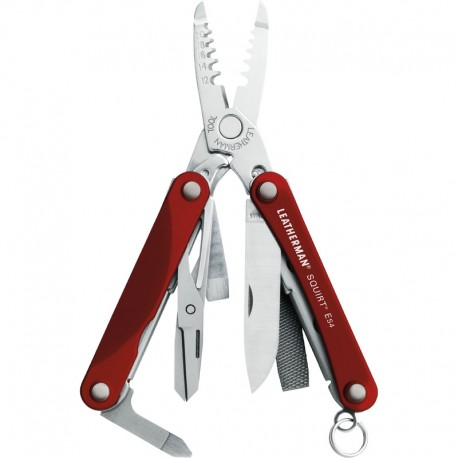 Instrument mulfunional Leatherman SQUIRT ES4 rosu