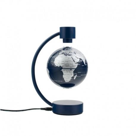 Glob levitant Stellanova albastru metalizat 10cm