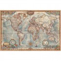 Harta lumii Modern World Antique Map, laminata RayWorld