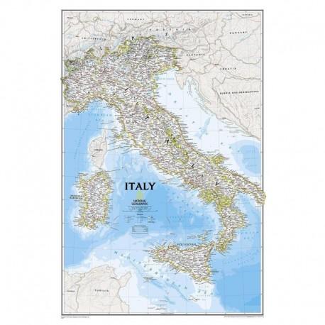 Harta Italia National Geographic