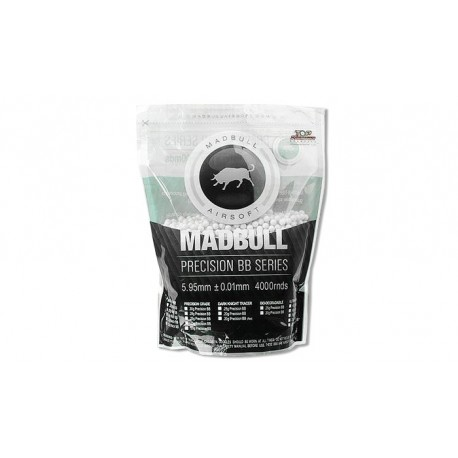 Bile Airsoft MadBull Precision 0,25g 4000 buc