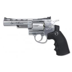 Replica Airsoft ASG Dan Wesson 4'' Revolver - Silver