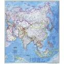 Harta politica a Asiei National Geographic