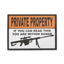 Sticker - PRIVATE PROPERTY