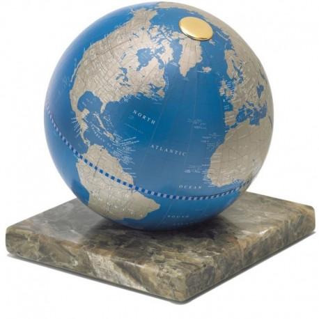 Glob Zoffoli Stone Blue metallico 22cm