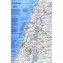 Harta regionala Tara Sfanta National Geographic