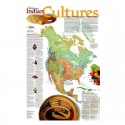 Harta Culturile indienilor National Geographic