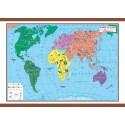 Harta lumii pentru copii 1400x1000 mm