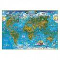 Harta lumii pentru copii (500x350mm)