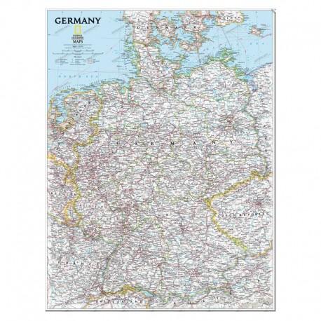 Harta Germaniei National Geographic