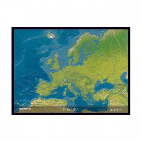Harta continent Europa Columbus