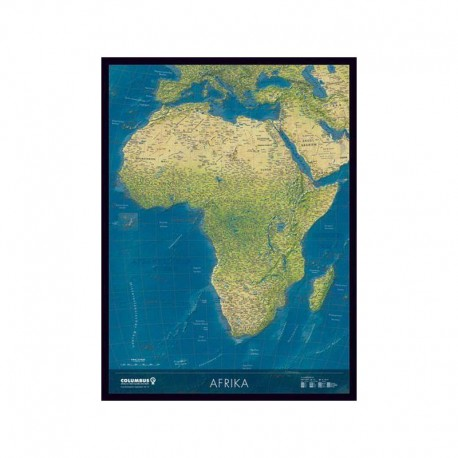 Harta Africii Columbus