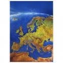 Harta continent MAIR Europa Panorama Bacher Verlag