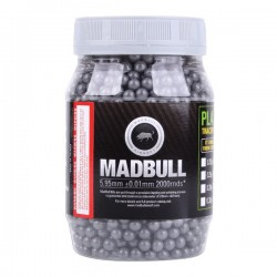 Bile Airsoft MadBull Ultimate Grey Stainless 0.42g 2000buc