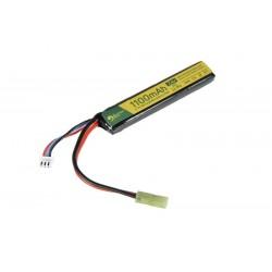 Baterie Li-Po 1100mAh 7.4V 20C Tamiya Mini