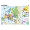 Europa. Harta politica 160x120 cm
