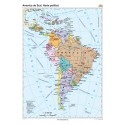America de Sud. Harta politica 70x100 cm