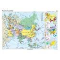 Asia. Harta politica 160x120 cm