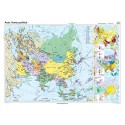 Asia. Harta politică 140x100 cm