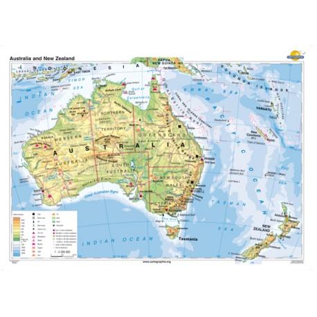 Australia şi Noua Zelanda 160x120 cm